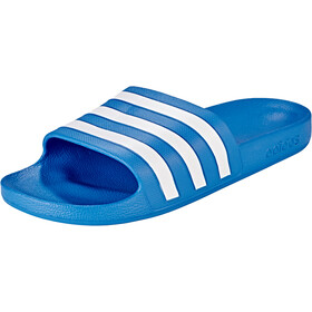 adidas Adilette Aqua Slides Men, true blue/ftwr white/true blue
